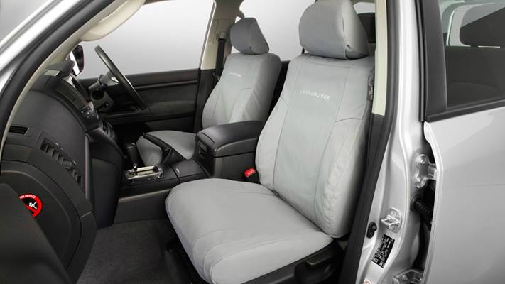 Canvas seat cover