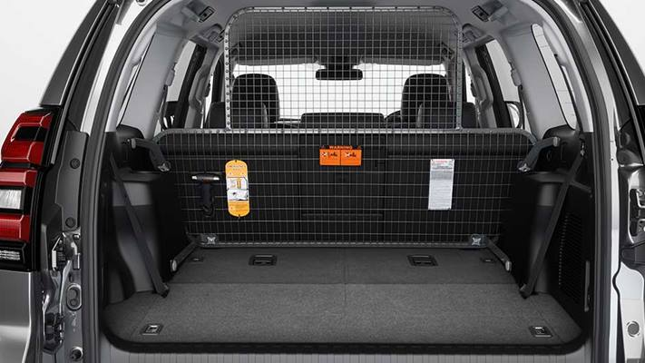 Cargo Barrier – 7 Seat – Curtain Side Airbag Compatibl
